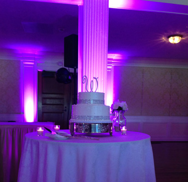 Uplighting for Pittsburgh Weddings