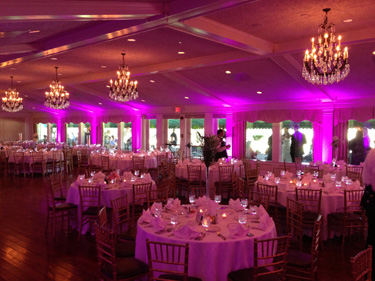 Uplighting for Special Events