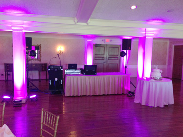 Uplighting, Greensburg Weddings